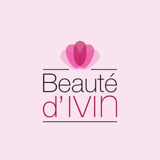 LSZ Communication-Graphiste-Directrice artistique freelance Nantes-Logo-Beauté d'Ivin-Onglerie-Quimper