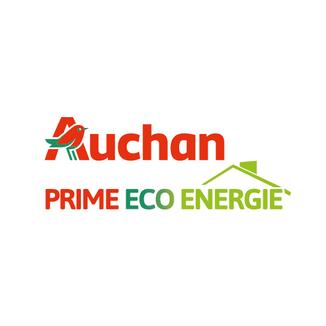 LSZ Communication-Graphiste-Directrice artistique freelance Nantes-Logo-Auchan-Prime Eco Energie
