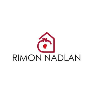 LSZ Communication-Graphiste-Directrice artistique freelance Nantes-Logo-Rimon Nadlan-Agence Immobilière-Israel