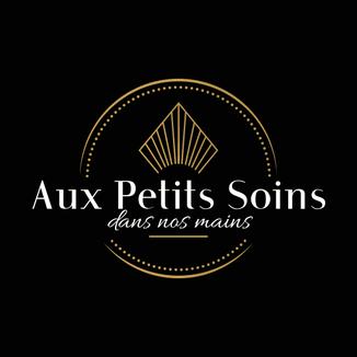 LSZ Communication-Graphiste-Directrice artistique freelance Nantes - Logo-Aux Petits Soins dans Nos Mains - Esthéticienne - Quimper