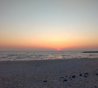 Sonnenaufgang ...
