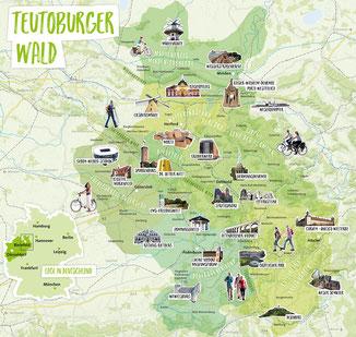 Teutoburger Wald © Teutoburger Wald Tourismus