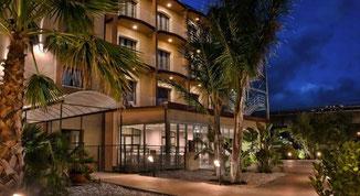 Il Viola Palace Hotel di Villafranca Tirrena (ME), sede del torneo regionale
