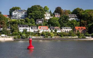 Immobilien am Hochufer der Elbe in Othmarschen