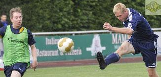 U23-Spielertrainer Adrian de Buhr