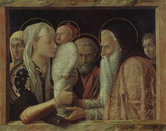 La Présentation au Temple, Andrea Mantegna