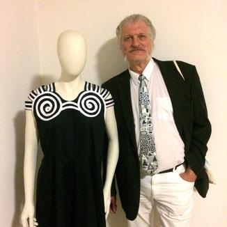 Othmar Richard Halek in der Klimt-Villa