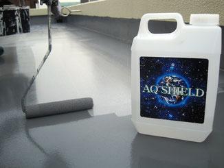 AQシールド 屋上防水バリア 防水バリア 防水 ナノグラス カラー 太陽光パネル