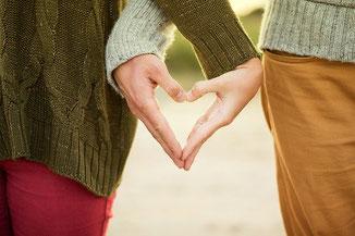 Paar Liebe Herz