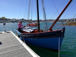 le grand bleu au ponton vue avant tribord
