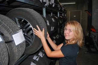 Central-Garage Hess AG - Pneu auswuchten - Reifenwechsel