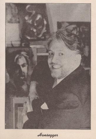 John Konstantin Hansegger Portrait