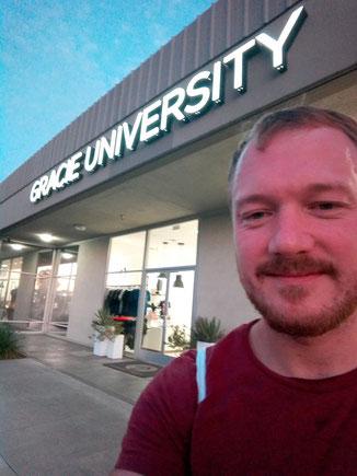 Während der Instructorausbildung in Kalifornien.