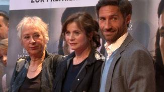 v.l.n.r.: Marleen Gorris, Emily Watson und Benjamin Sadler