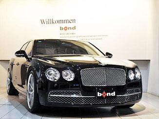 ベントレー「フライングスパー」(「bondcars TOKYO」のサイト情報より)