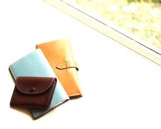 横浜のレザークラフト(革)教室ヨコハマセリエ 財布 コインケース
