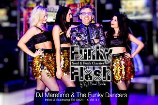 ,Funky Flash' DJ Maretimo & The Funky Dancers - Maretimo Records