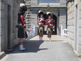 Halifax - Wachablösung in der Zitadelle