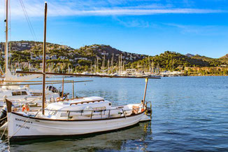 Port Soller, Mallorca, Hafen, Bucht, Spanien
