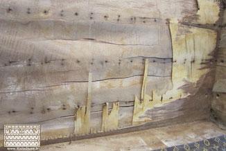 structure bois peuplier vuitton