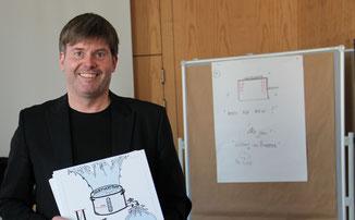 Thorsten Ohler schafft es, komplexe Zusammenhänge - auf den Punkt - visuell darzustellen.