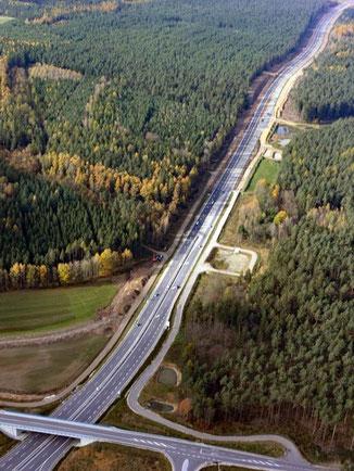 Im Landkreis Amberg-Sulzbach wird die B85 zwischen der A6 und Pittersberg vierstreifig ausgebaut. Foto: Staatliches Bauamt Amberg-Sulzbach
