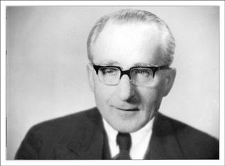 Anno 1958, Fleischermeister Fritz Koch  (Großvater)