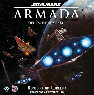 Ankündigung Star Wars Armada: Konflikt um Corellia