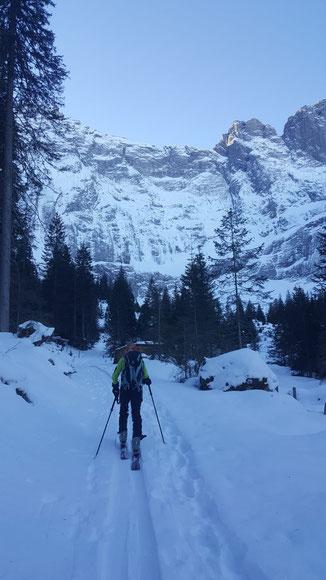 Skitour, Wäspen, Brunnital, Unterschächen, Klausenpass