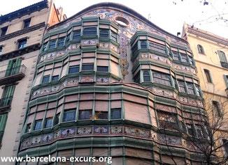 архитектурный модерн барселоны