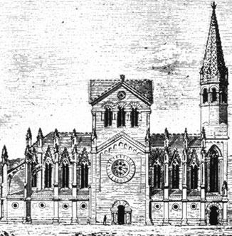 Храм Святого Семейства - проект Вильяра