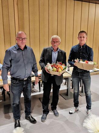 v.l.n.r. Klaus Tißen, Franz Ingendahl, Markus Görtz