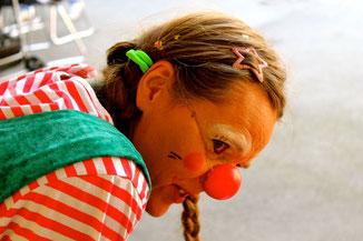 Clownin Lotte Flüchtlingskinder