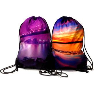 Full Colour 'Dye Sub' Drawstring Bags