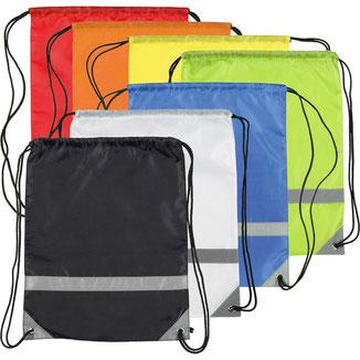 Knockholt Reflective Drawstring Bags