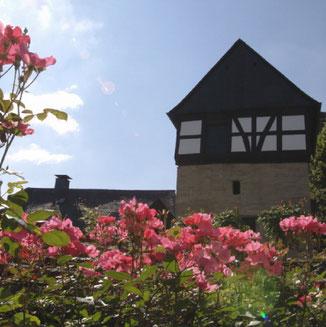 Reisen Speicher mit Romantikgarten