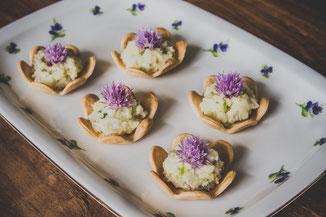 Blüten als Eyecatcher auf jedem Gericht