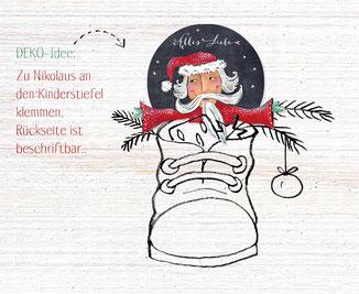 Dekofigur Nikolaus Weihnachtsmann