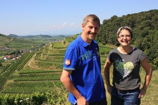 In den Weinbergen am Kaiserstuhl mit Franziska Schätzle