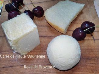 山羊のチーズ、羊のチーズ