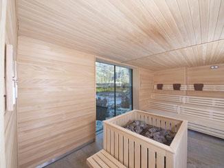 Sauna finlandese interna Tanne