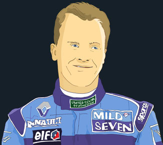 Johnny Herbert by Muneta & Cerracín