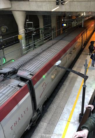 Met de Thalys naar huis reizen