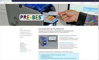 PRE-BES - Kartendrucker für Plastikkarten