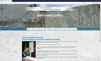 Fabian Winiger Steinmetz & Bildhaueratelier, Hombrechtikon