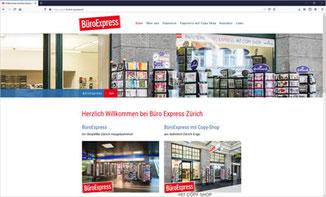 BüroExpress im ShopVille Zürich Hauptbahnhof + mit Copy-Shop am Bahnhof Zürich Enge