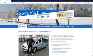 Taxitransporte GMÜR FÜR SIE..., Rapperswil-Jona