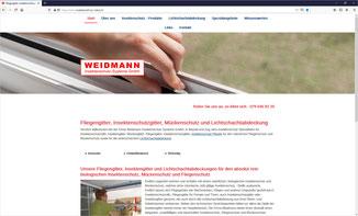 Weidmann, Insektenschutz-Rollos & Systeme