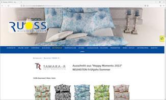 ROBERT RUOSS & CO. AG - WOHNTEXTIL- UND BETTWARENCENTER, Schübelbach
