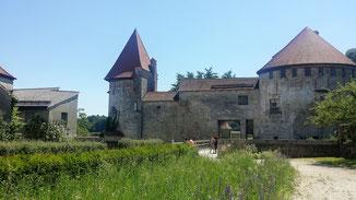 Burg Burghausen, Torbau vom 3. zum 2. Hof
